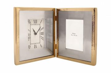 Ceas de masă Moments 3x40x25 cm auriu