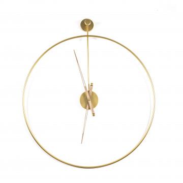 Ceas de perete 70x6x76 cm auriu