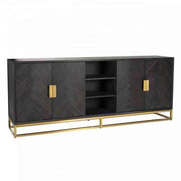Comoda Blackbone gold 4-usi