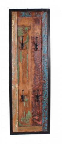 Cuier din lemn reciclat Bali 35 x 8 x 110 cm