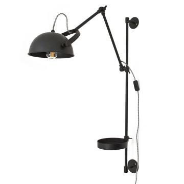 Lampa de birou din fier Eagle neagra