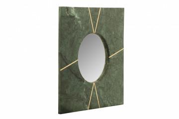 Oglindă cu rama din marmura verde Dexter 41x41x2 cm