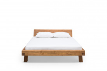 Pat din lemn masiv 180 x 200 cm