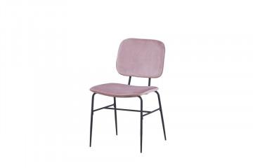 Set 2 scaune din catifea Sit&Chairs Rose