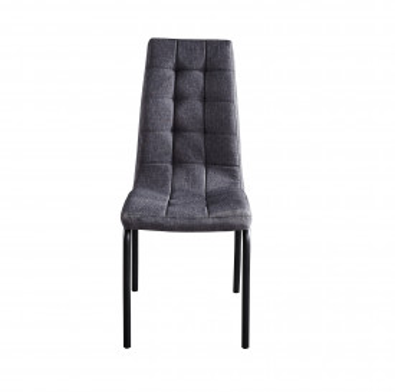 Set 2 scaune tapitate gri inchis