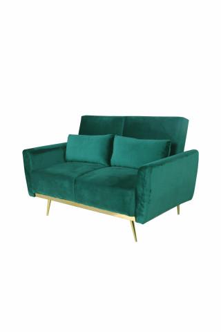 Canapea Macy verde, 2 locuri