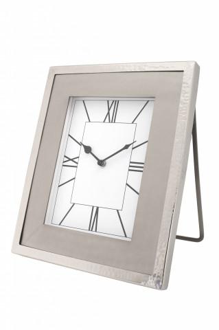 Ceas de masă Moments 3x21x27 cm argintiu