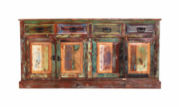 Comoda din lemn Riverboat multicolor 80 cm