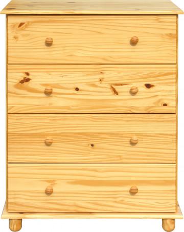 Comoda din pin masiv 80x43x102 cm
