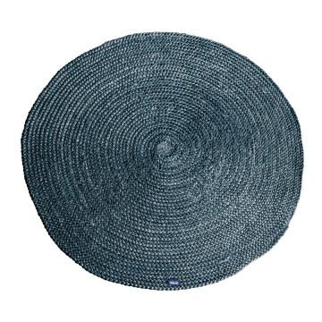 Covor Jute rotund 120x120 cm - grey