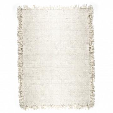 Covor Woolie din lana 160x230 cm crem