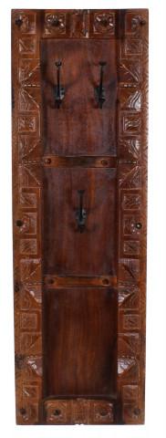 Cuier din lemn reciclat Almirah 35 x 8 x 110 cm