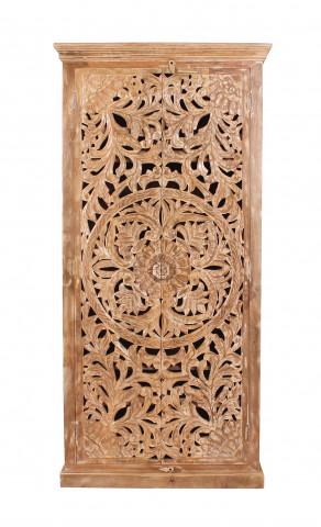 Dulap din lemn de mango Lakadee 90 x 45 x 185 cm