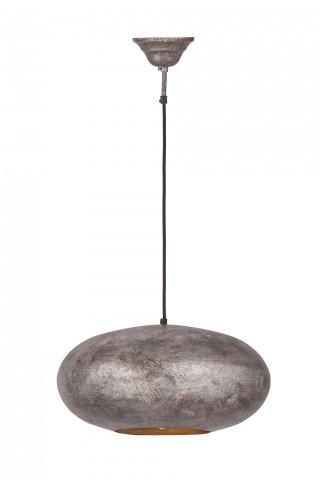 Lustra din fier Terrific bronze, un bec