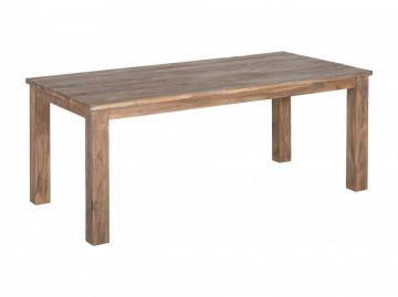 Masa dreptunghiulara din lemn 160x90x78 cm maro