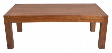 Masuta de cafea dreptunghiulara din lemn de salcam 110x60x40 cm