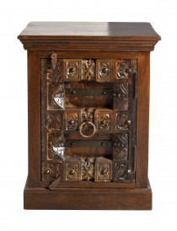 Noptiera din lemn reciclar Almirah 55 x 45 x 70 cm