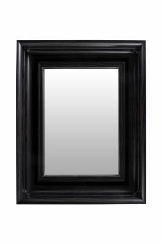 Oglinda dreptunghiulara cu rama din polistiren maro închis Scott, 45,5cm (L) x 36,5cm (L) x 5,2cm (H)