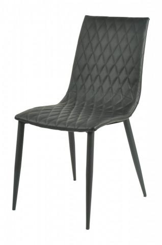 Set 2 scaune piele artificiala Sit&Chairs Black