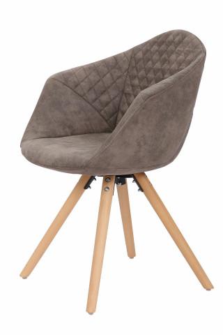 Set 2 scaune tapitate Chadwick gri