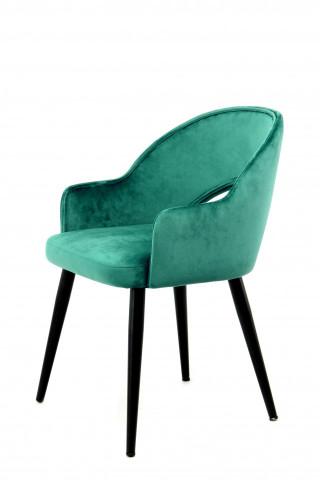 Set 2 scaune tapitate Joris verzi