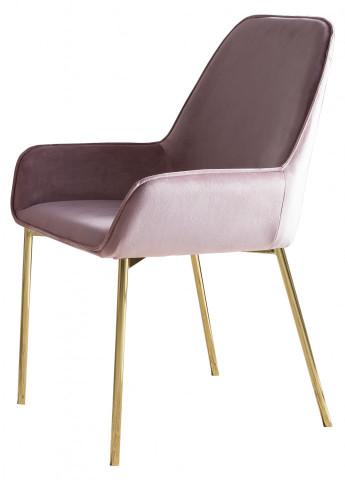 Set 2 scaune tapitate Linnea roz