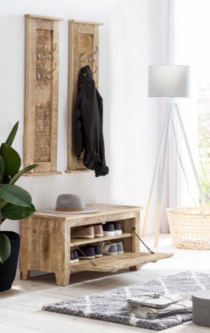 Set 3 piese mobilier pentru hol din lemn masiv Frigo
