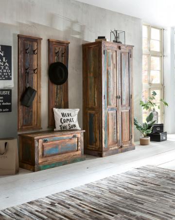 Set 4 piese mobilier pentru hol din lemn Riverboat