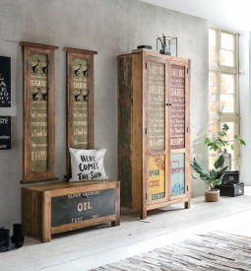 Set 4 piese mobilier pentru hol din lemn Speedway