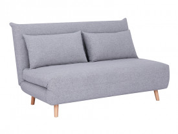 Canapea extensibila Spike gri, 2 locuri