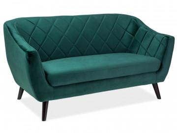 Canapea Molly verde, 3 locuri