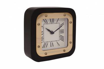 Ceas de masă Moments 5x17x17cm auriu / negru