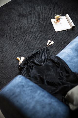Covor Madam 160x230 cm - black