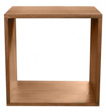 Etajera din lemn de salcam 44x33 cm