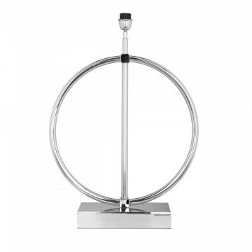 Lampa decorativa din aluminiu Felyn argintie, un bec