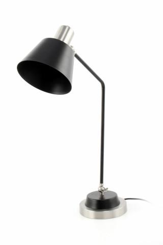 Lampa decorativa din fier Triumph argintie/neagra, un bec