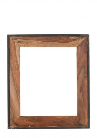 Oglinda dreptunghiulara cu rama naturala de lemn PANAMA, 82 x 3 x 97 cm