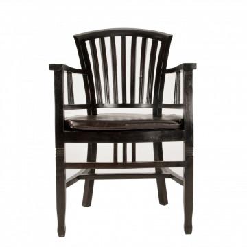 Scaun din lemn Samba maro