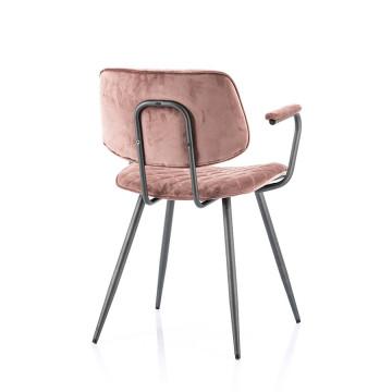 Scaun tapitat Msi roz