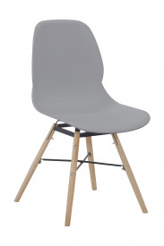 Set 2 scaune Amy gri
