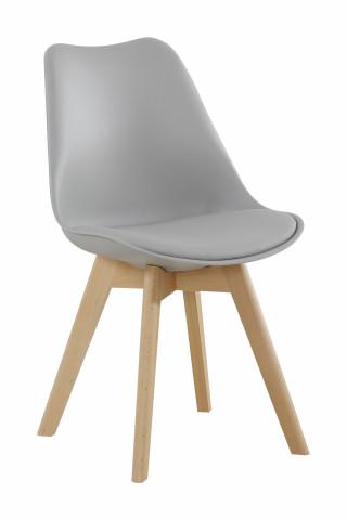 Set 2 scaune Monica gri