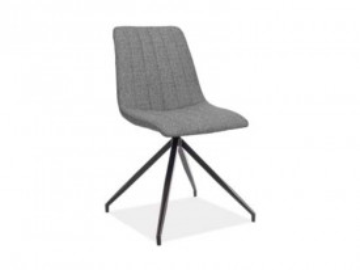 Set 2 scaune tapitate Alan gri