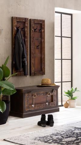 Set 3 piese mobilier pentru hol din lemn Almirah