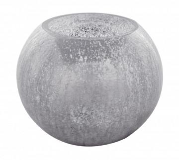 Vaza sticla Alpinia II Argintiu