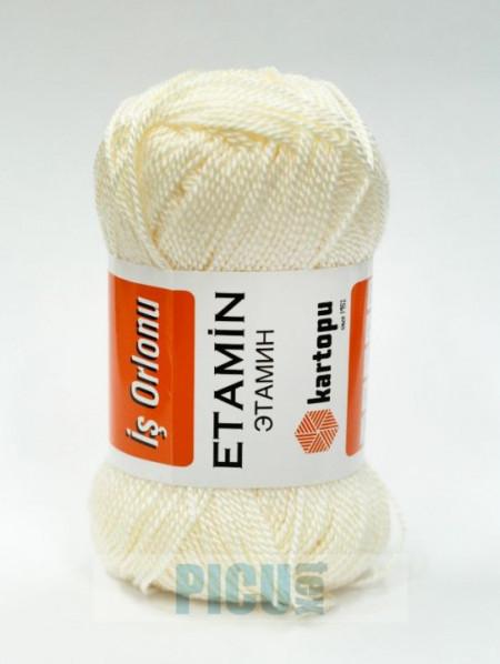 Poze Fir de tricotat,brodat sau crosetat - Fir KARTOPU ETAMIN CREAM -13