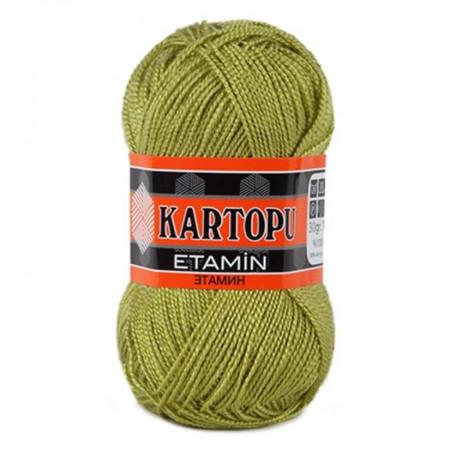 Poze Fir de tricotat,brodat sau crosetat - Fir KARTOPU ETAMIN KAKI 442