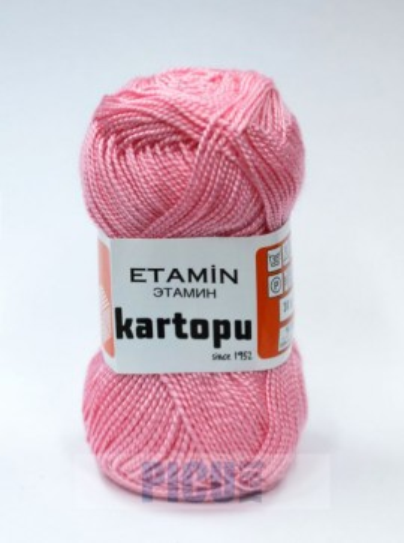 Poze Fir de tricotat,brodat sau crosetat - Fir KARTOPU ETAMIN ROZ - 788