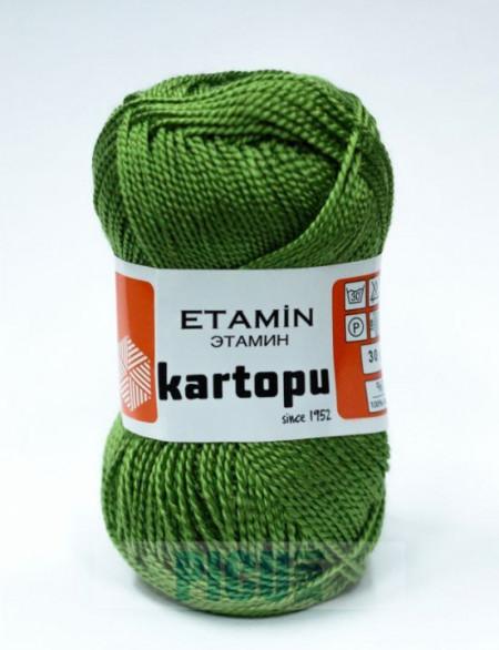 Poze Fir de tricotat,brodat sau crosetat - Fir KARTOPU ETAMIN VERDE - 391