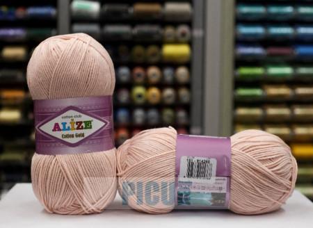 Poze Fir de tricotat sau crosetat - Fir ALIZE COTTON GOLD CREAM 161