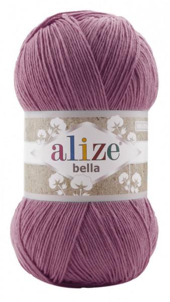 Poze Fir de tricotat sau crosetat - Fir BUMBAC 100% ALIZE BELLA 100 - ROZ 440
